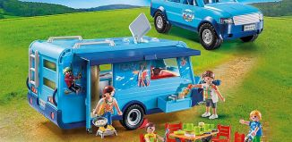Playmobil - 9502 - Playmobil Pickup with Caravan