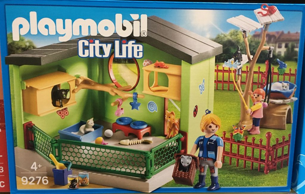 Playmobil 9276 - Purrfect Stay Cat Boarding - Box