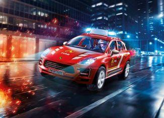 Playmobil - 70277 - Porsche Macan S fire brigade