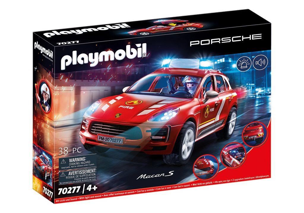 Playmobil 70277 - Porsche Macan S fire brigade - Box