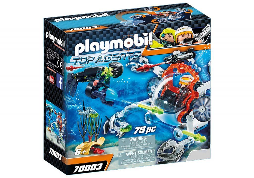 Playmobil 70003 - SPY TEAM Sub Bot - Box