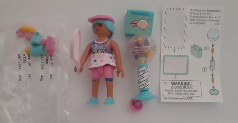 Playmobil 70389V8 - Mrs Bubble Gum - Back