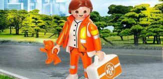 Playmobil - 70689-ger - Emergency pediatrician