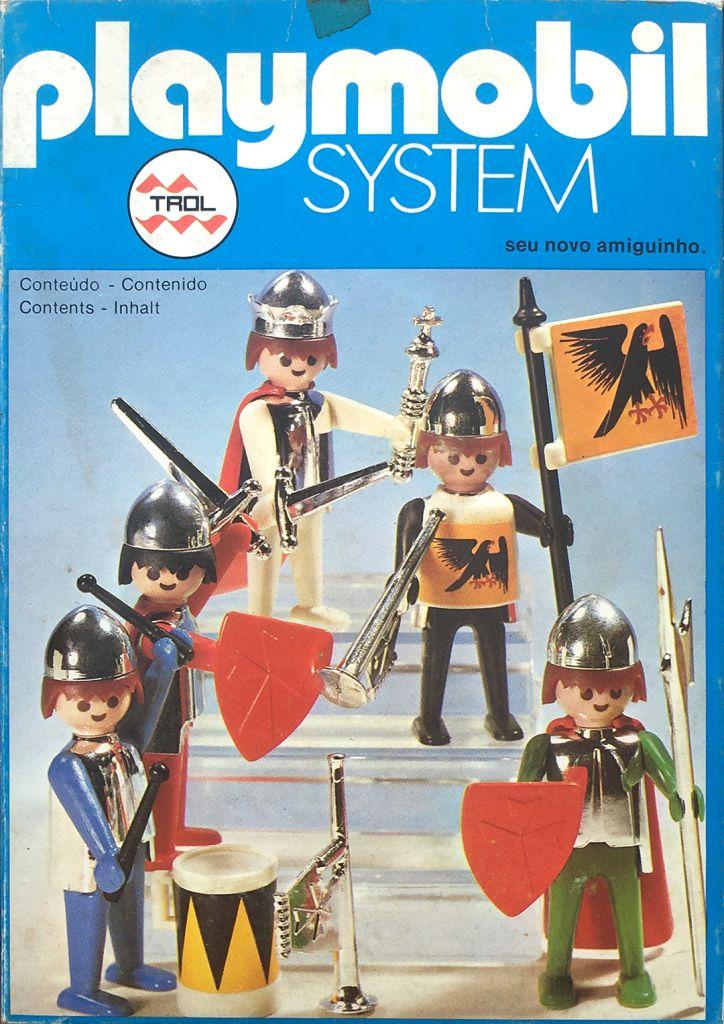 Playmobil 23.26.1-trol - King and knights - Box
