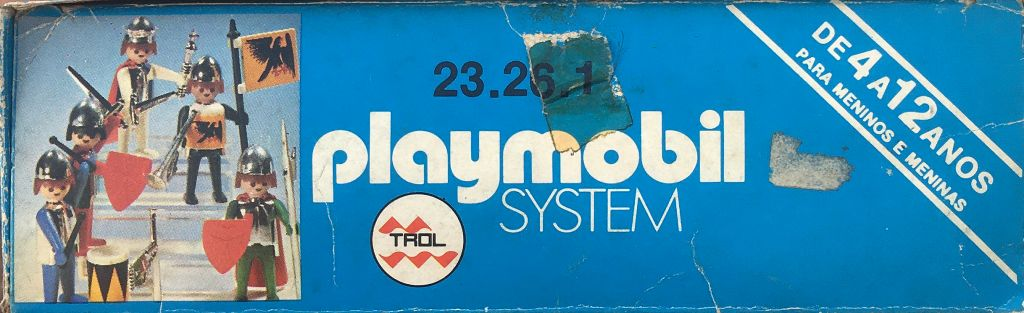 Playmobil 23.26.1-trol - King and knights - Back