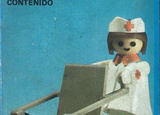 Playmobil - 3362-ant - Nurse / wheelchair