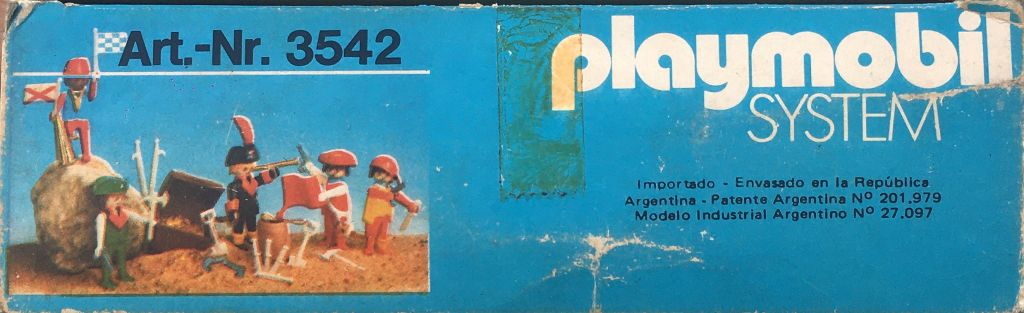 Playmobil 3542-ant - piratas / cofre del tesoro - Volver