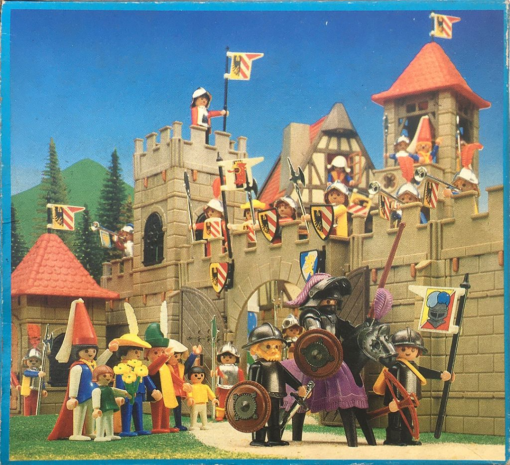 Playmobil 3329-ant-esp - Knight And Squires - Back