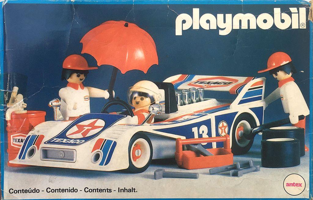 Playmobil 3.78.5-ant - Racing Car Team - Box