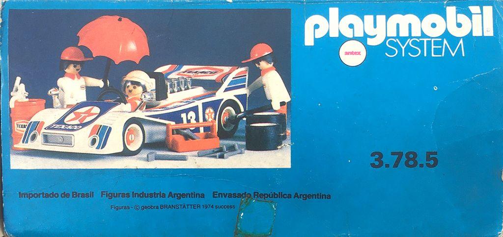 Playmobil 3.78.5-ant - Racing Car Team - Back