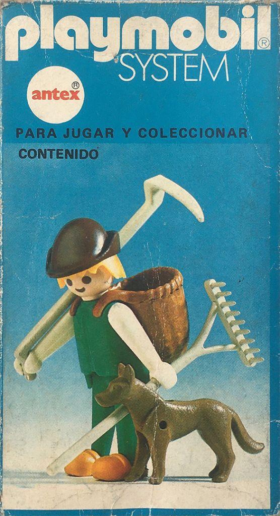 Playmobil 3373-ant -  Farmer with dog - Box