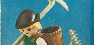 Playmobil - 3373-ant -  Farmer with dog