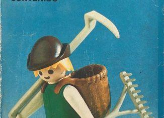 Playmobil - 3373-ant -  Farmer with dog