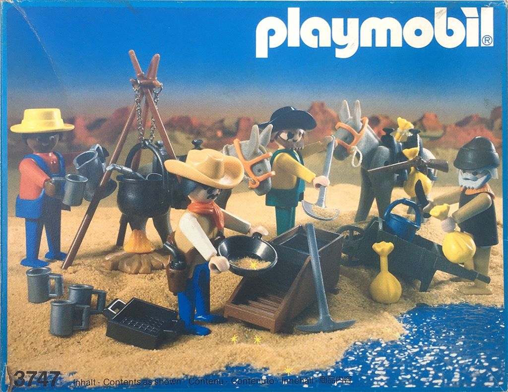 Playmobil 3747-ant - Gold washers - Box