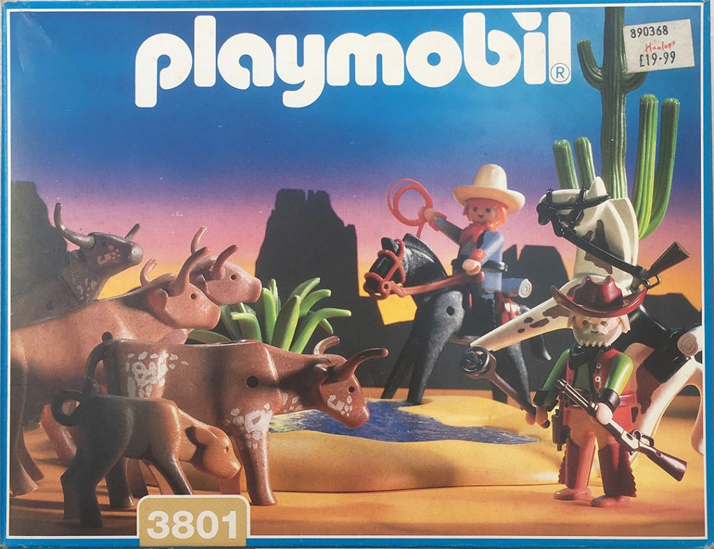 Playmobil 3801 - Watering Hole - Box
