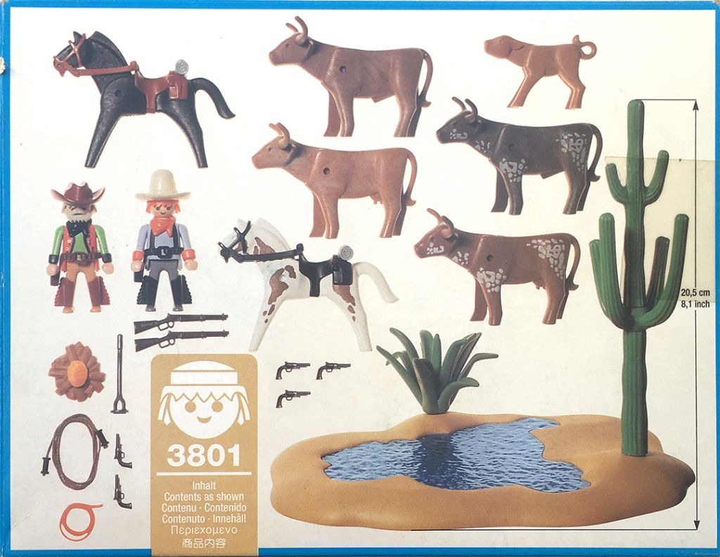 Playmobil 3801 - Watering Hole - Back