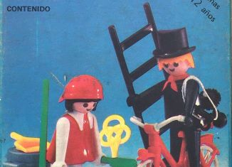 Playmobil - 3576-ant - Chimney sweep and cleaning lady