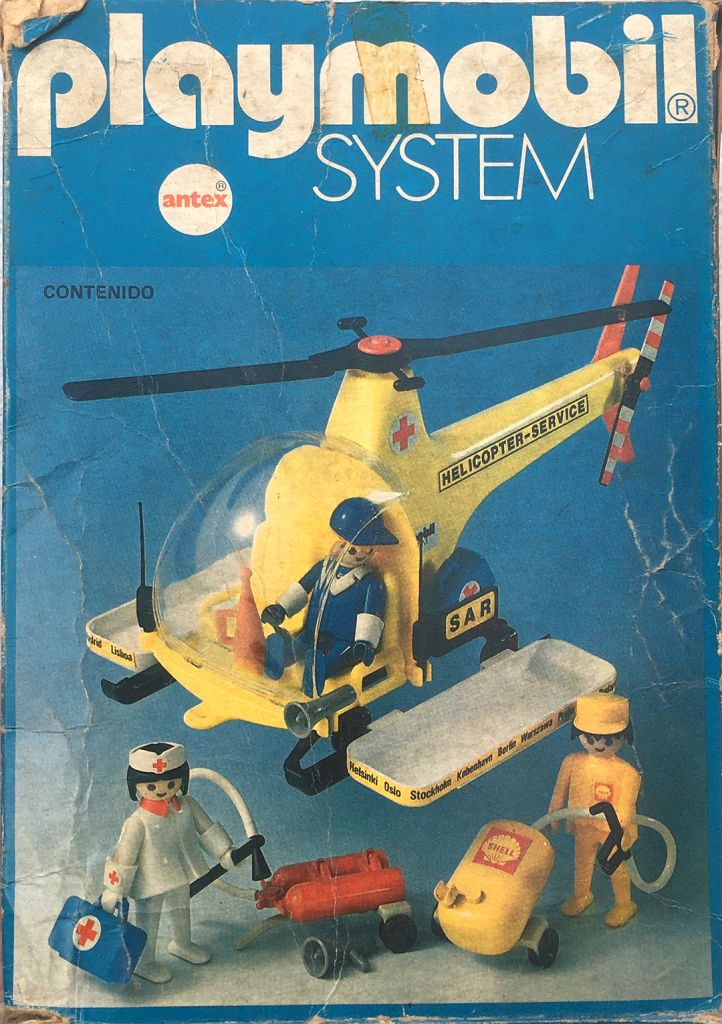 Playmobil 3247-ant - Rescue helicopter - Box
