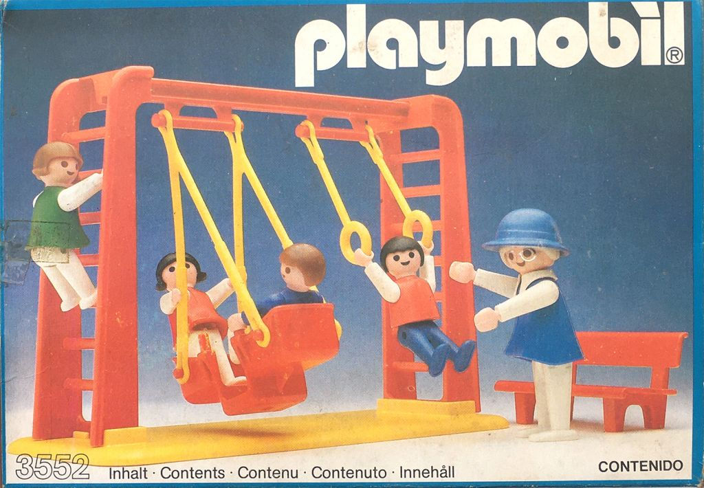 Playmobil 3552v1-ant - Hamacas - Caja