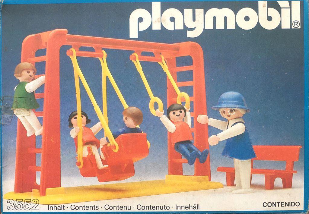 Playmobil 3552v1-ant - Swing Set - Box