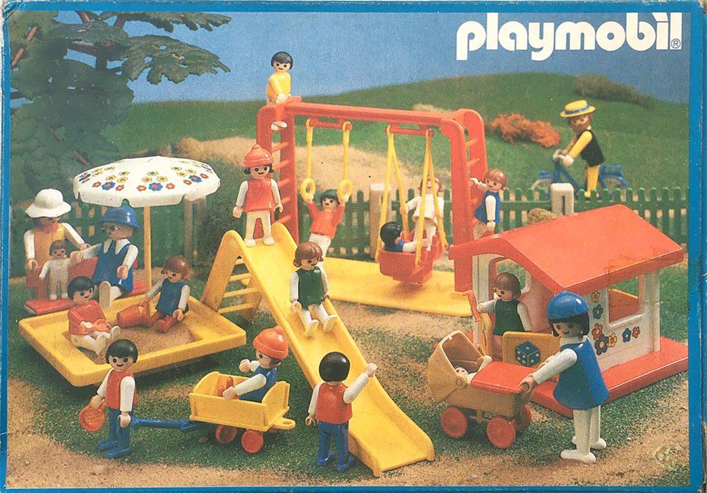 Playmobil 3552v1-ant - Swing Set - Back