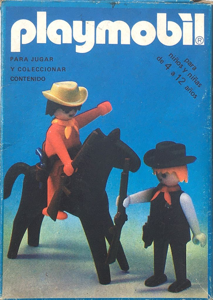 Playmobil 3581-ant - Sheriff and cowboy - Box
