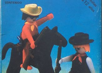 Playmobil - 3581-ant - Sheriff and cowboy