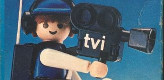Playmobil - 3765-ant - TV Cameraman