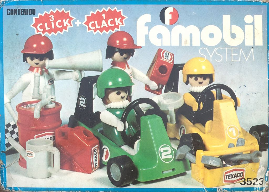 Playmobil 3523-fam - Go Karts - Box