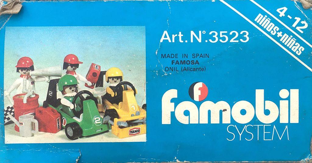 Playmobil 3523-fam - Go Karts - Back