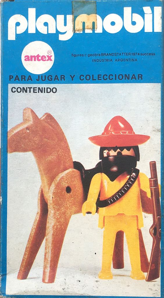Playmobil 3343-ant - Mexican bandit - Box