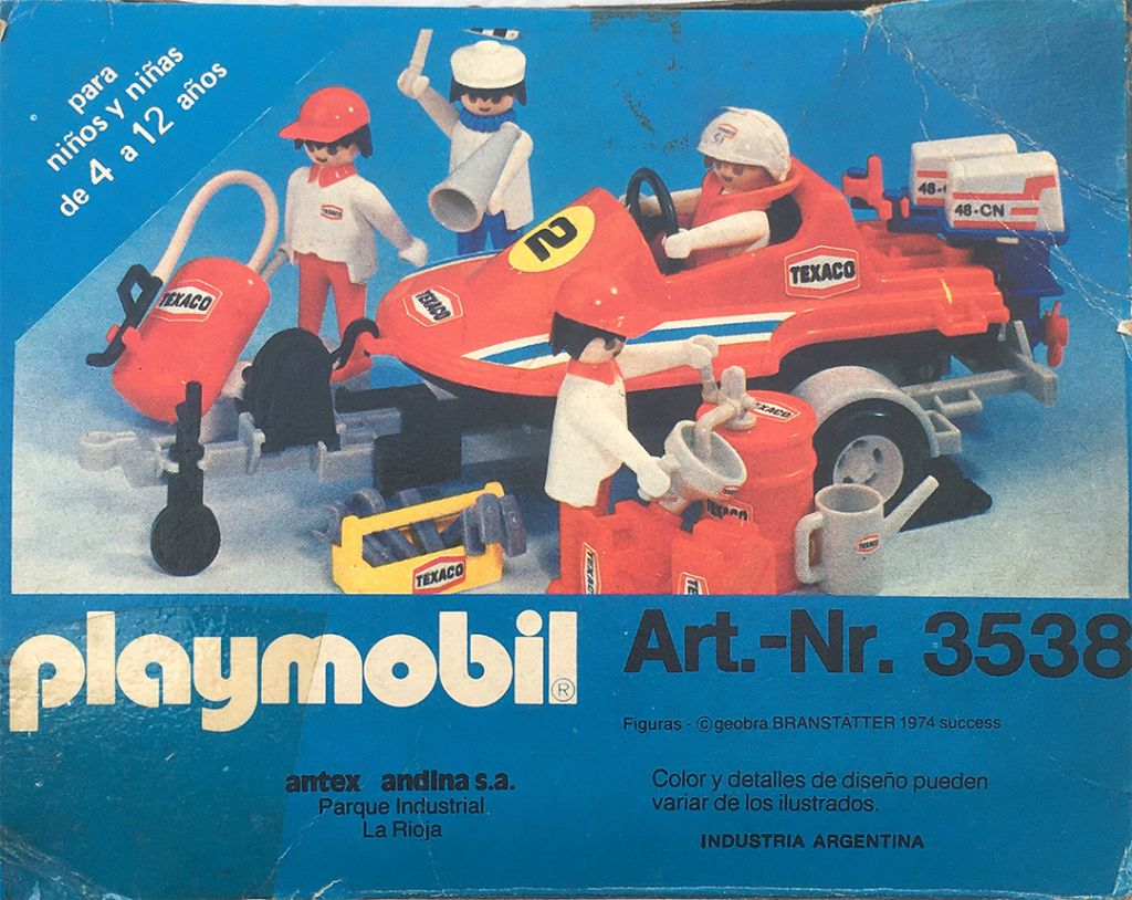 Playmobil 3538-ant - Speedboat team - Back