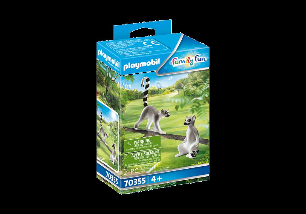 Playmobil 70355 - Lemurs - Box