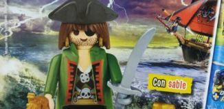 Playmobil - R045 30794214 - Pirata Jack Unojo