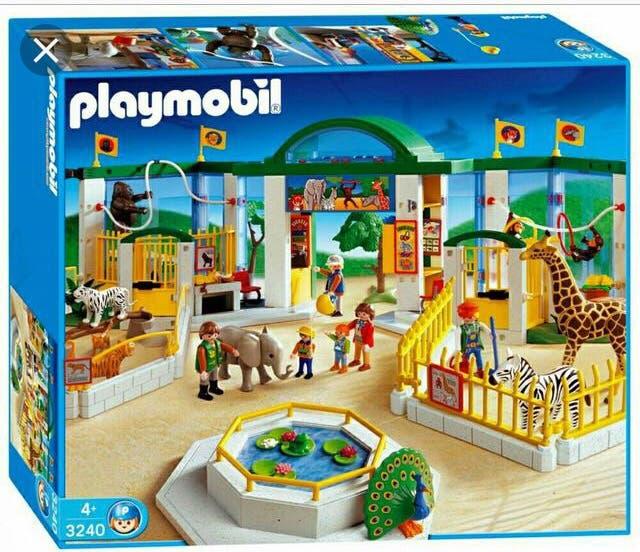 Playmobil 3240 - Zoo - Box