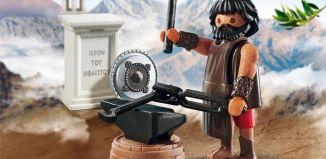 Playmobil - 70217-gre - Dios griego Hefesto