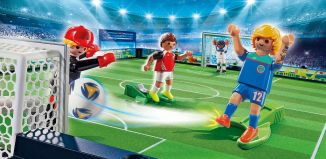 Playmobil - 70244 - Take Along Soccer Arena