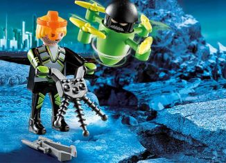 Playmobil - 70248 - Space agent with drone
