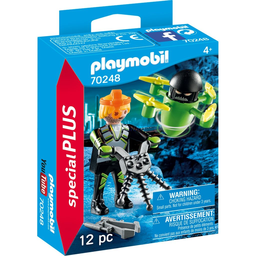 Playmobil 70248 - Space agent with drone - Box