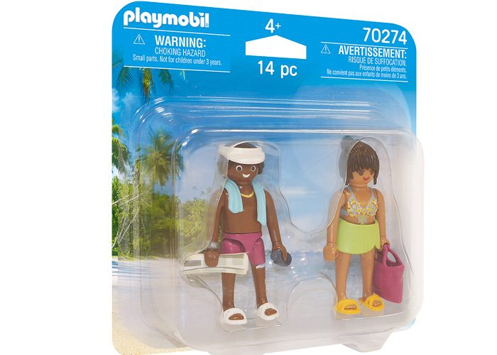 Playmobil 70274 - Bathers - Box