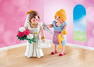 Playmobil - 70275 - Bride and dressmaker