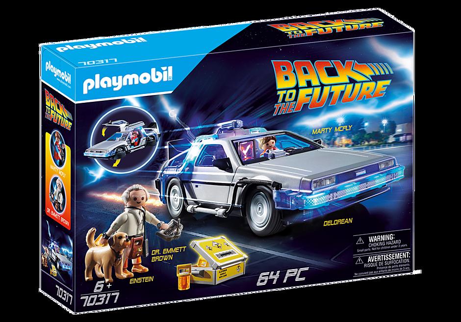 Playmobil 70317 - Regreso al futuro - Caja