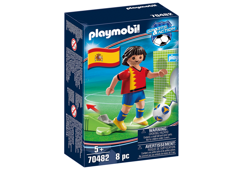 Playmobil 70482 - Spanish Football Player - Box