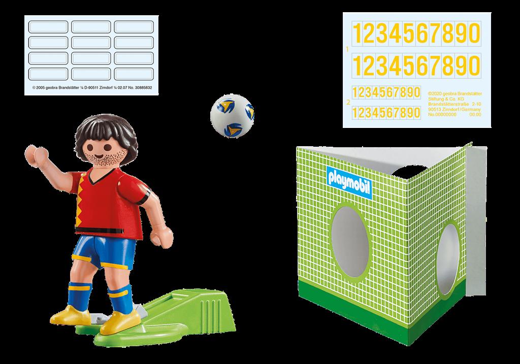 Playmobil 70482 - Spanish Football Player - Back