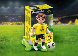 Playmobil - 70545-ger - Promo BVB-Fussballer