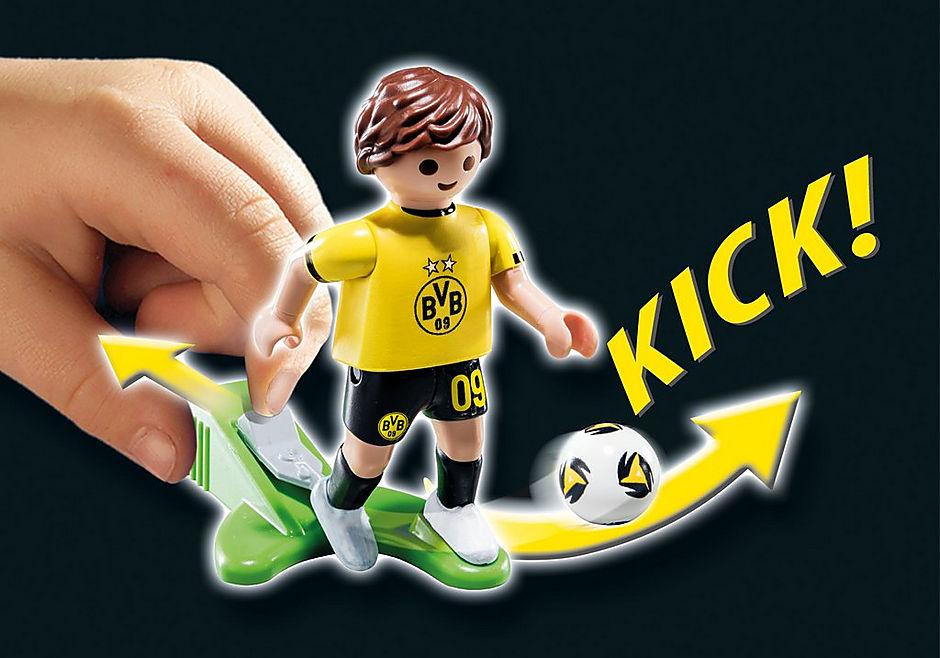Playmobil 70545-ger - Promo BVB-Fussballer - Back