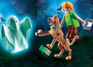 Playmobil - 70287 - SCOOBY-DOO! Scooby & Shaggy con fantasma