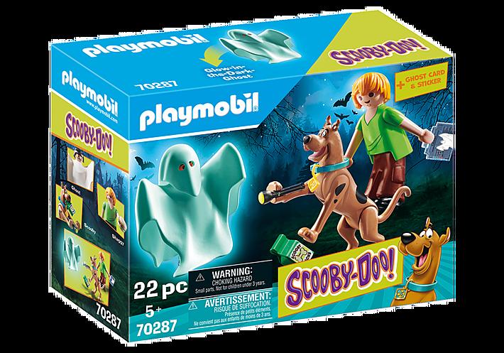 Playmobil 70287 - SCOOBY-DOO! Scooby & Shaggy con fantasma - Caja