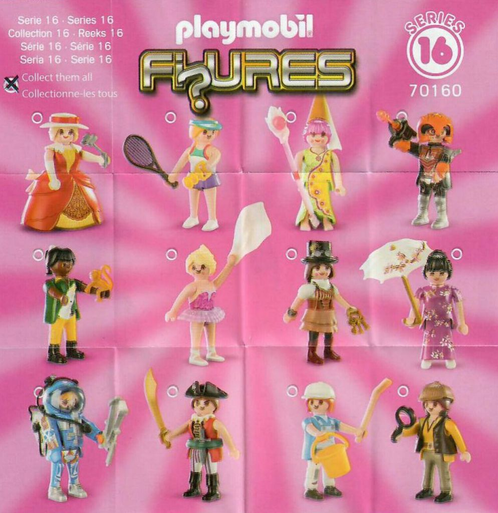 Playmobil 70160 - Figuren Series 16 - Girls - Back