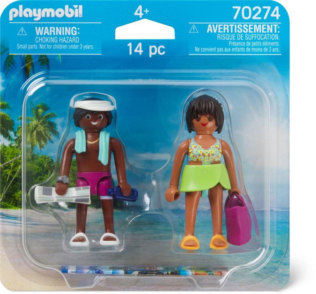 Playmobil 70274 - Bathers - Back